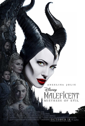Disney's Maleficent Mistress of Evil (2019) poster