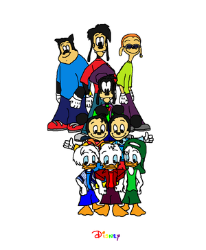Disney's Quack Pack, Riverside Rovers and College X Games