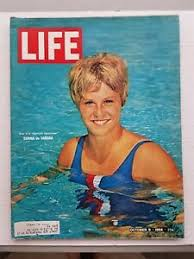Donna Da Varona On The Cover Of Life