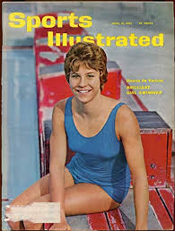 Donna Da Varona On The Cover Of Sports Illustrated