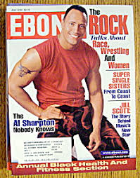 Dwayne Johnson On The Cover Of Ebony