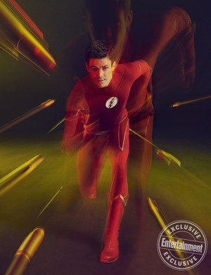 EW's Arrowverse Stars Exclusive Shoot: Grant Gustin Portraits