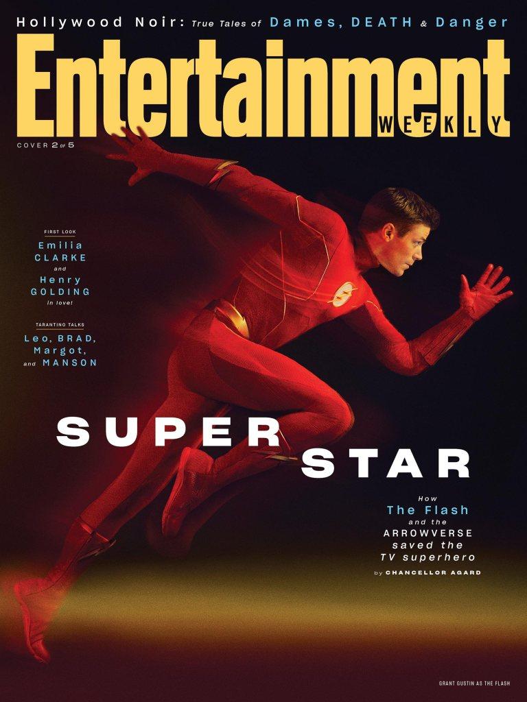 EW's Arrowverse Stars Exclusive Shoot: Grant Gustin Portraits
