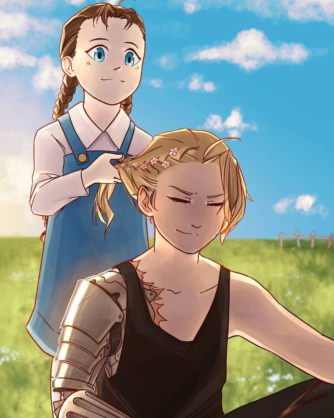 Edward and Nina