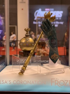 Elsa's Orb and Scepter at D23 expo