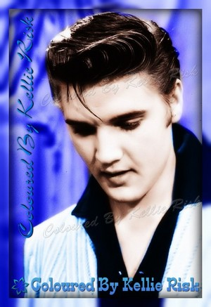 Elvis Coloured Picture