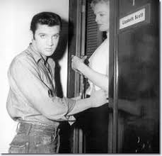 Elvis With A fan