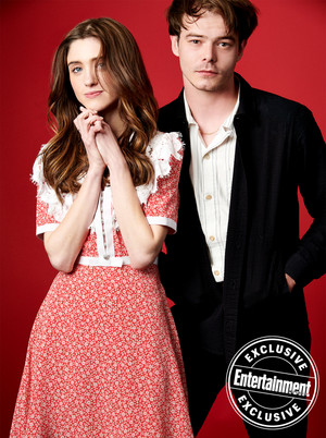 Entertainment Weekly's Stranger Things Portraits - 2019 - Natalia Dyer and Charlie Heaton