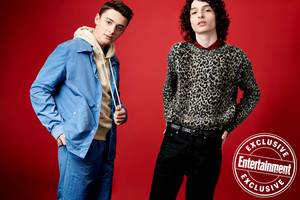 Entertainment Weekly's Stranger Things Portraits - 2019 - Noah Schnapp and Finn Wolfhard