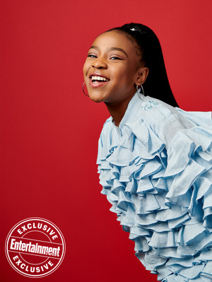 Entertainment Weekly's Stranger Things Portraits - 2019 - Priah Ferguson