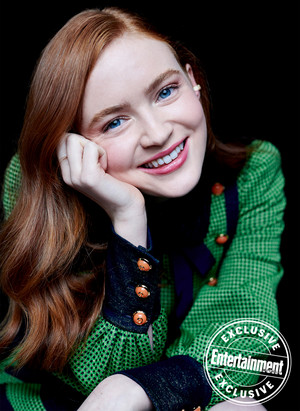 Entertainment Weekly's Stranger Things Portraits - 2019 - Sadie Sink