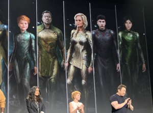 First Look at The Eternals D23Expo 2019