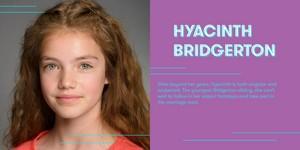 Florence Hunt cast as Hyacinth Bridgerton