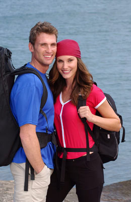 Freddy Holliday and Kendra Bentley (The Amazing Race 6)