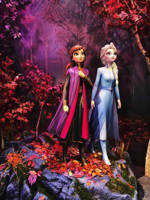 Frozen 2 foto op at D23 Expo