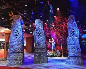 Frozen 2 Photo op at D23 Expo