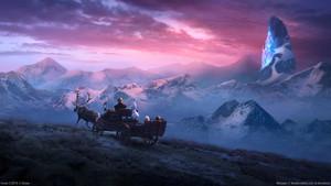 겨울왕국 2 바탕화면
