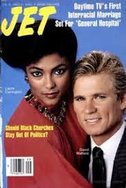 General Hostipal Interracial Wedding On The Cover Of Jet