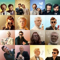 Good Omens icons