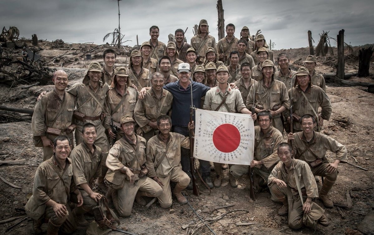 Hacksaw Ridge (2016) Behind the Scenes - Mel Gibson and the Japanese cast