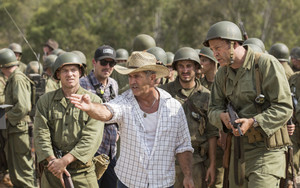 Hacksaw Ridge (2016) Behind the Scenes - Sam Worthington, Mel Gibson and Vince Vaughn
