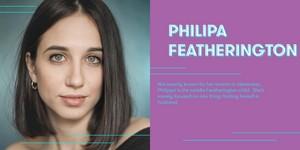 Harriet Cains cast as Philipa Featherington