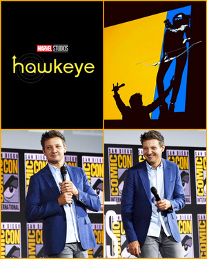 Hawkeye (Jeremy Renner) -2019 Marvel Comic Con