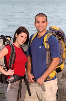 Hayden Kristianson and Aaron Crumbaugh (The Amazing Race 6)