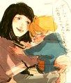 Hinata and boruto - anime fan art