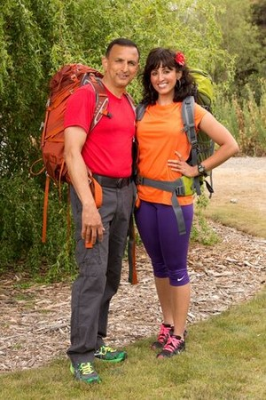 Hoskote and Naina Venkatesh (The Amazing Race 23)