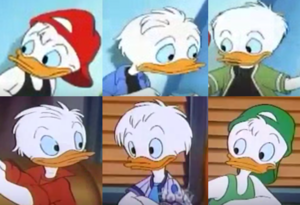 Huey Dewey and Louie Duck HoM and QP
