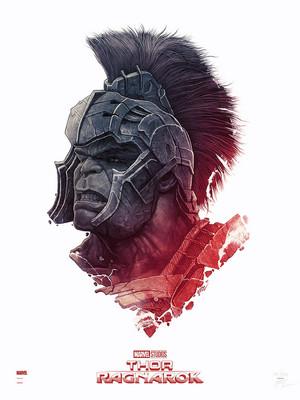 Hulk -Thor: Ragnarok door Gabz