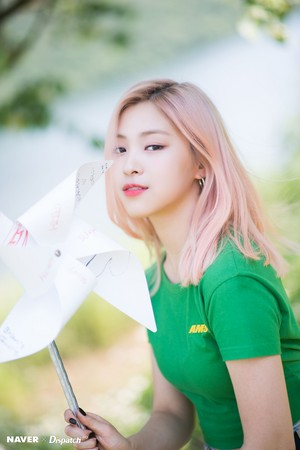 "ITZY Ryujin - ""IT'z ICY"" promotion photoshoot por Naver x Dispatch"