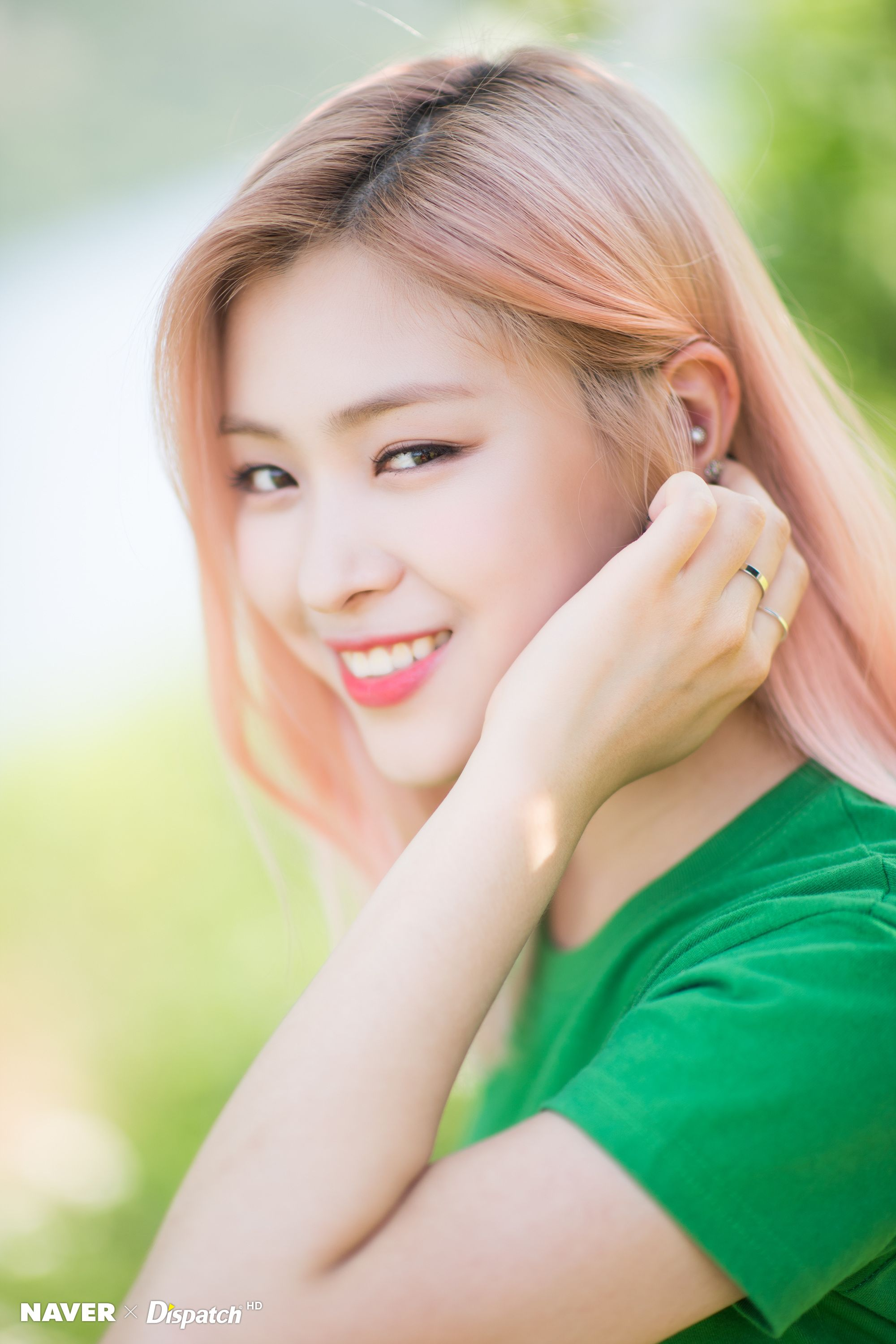 Itzy Ryujin It Z Icy Promotion Photoshoot Von Naver X
