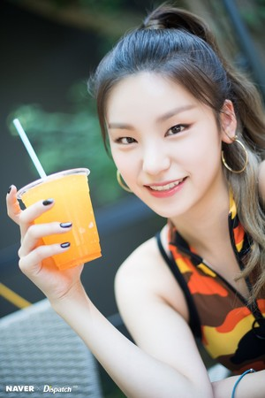 "ITZY Yeji - ""IT'z ICY"" promotion photoshoot by Naver x Dispatch"