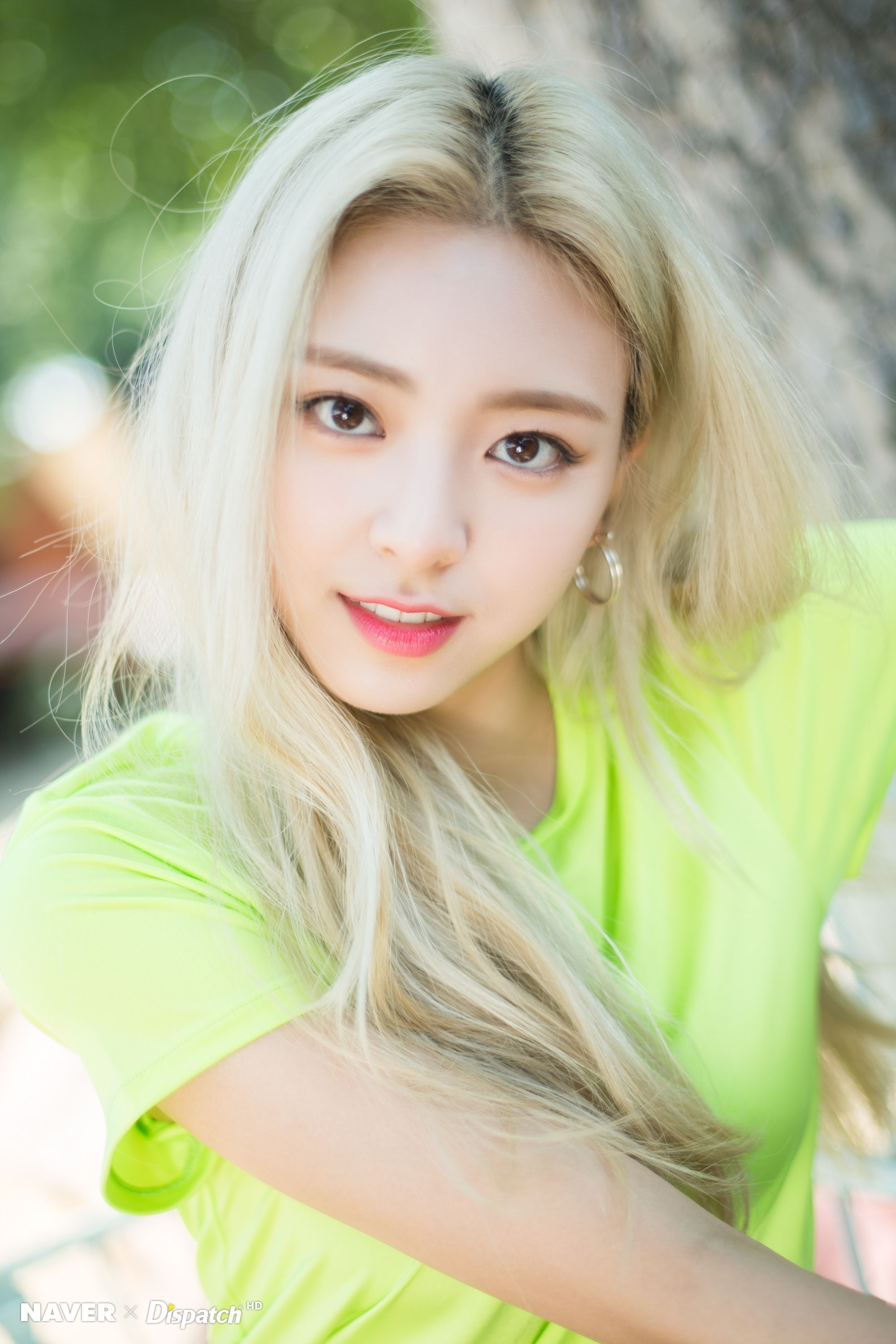 """ITZY Yuna - """"IT'z ICY"""" promotion photoshoot by Naver x ..."""
