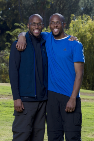 Idries and Jamil Abdur-Rahman (The Amazing Race 22)
