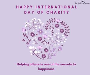 International Charity দিন