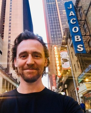 It's July 16, 2019, summer in New York, and Tom Hiddleston has arrived on Broadway