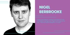 Jamie Beamish cast as Nigel Berbrooke