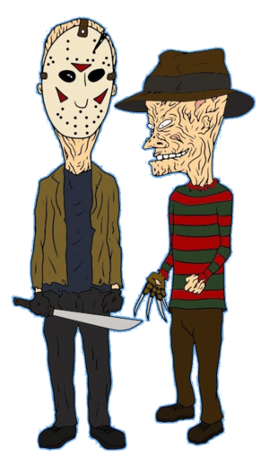 Jason and Freddy