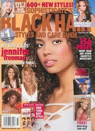 Jennifer Freeman On The Cover Of Black Hair