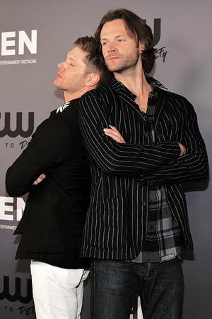Jensen Ackles and Jared Padalecki || The CW's Summer TCA All-Star Party - August 4th