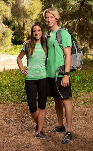 Jessica Hoel and John Erck (The Amazing Race: All-Stars 2014)