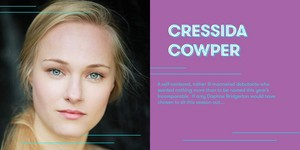 Jessica Madsen cast as Cressida Cowper