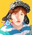 Jhope fanart❤️💋 - bts fan art