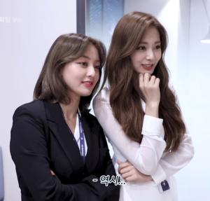 Jihyo and Tzuyu