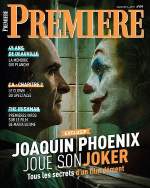 Joaquin Phoenix as the Joker ~ Premiere Magazine