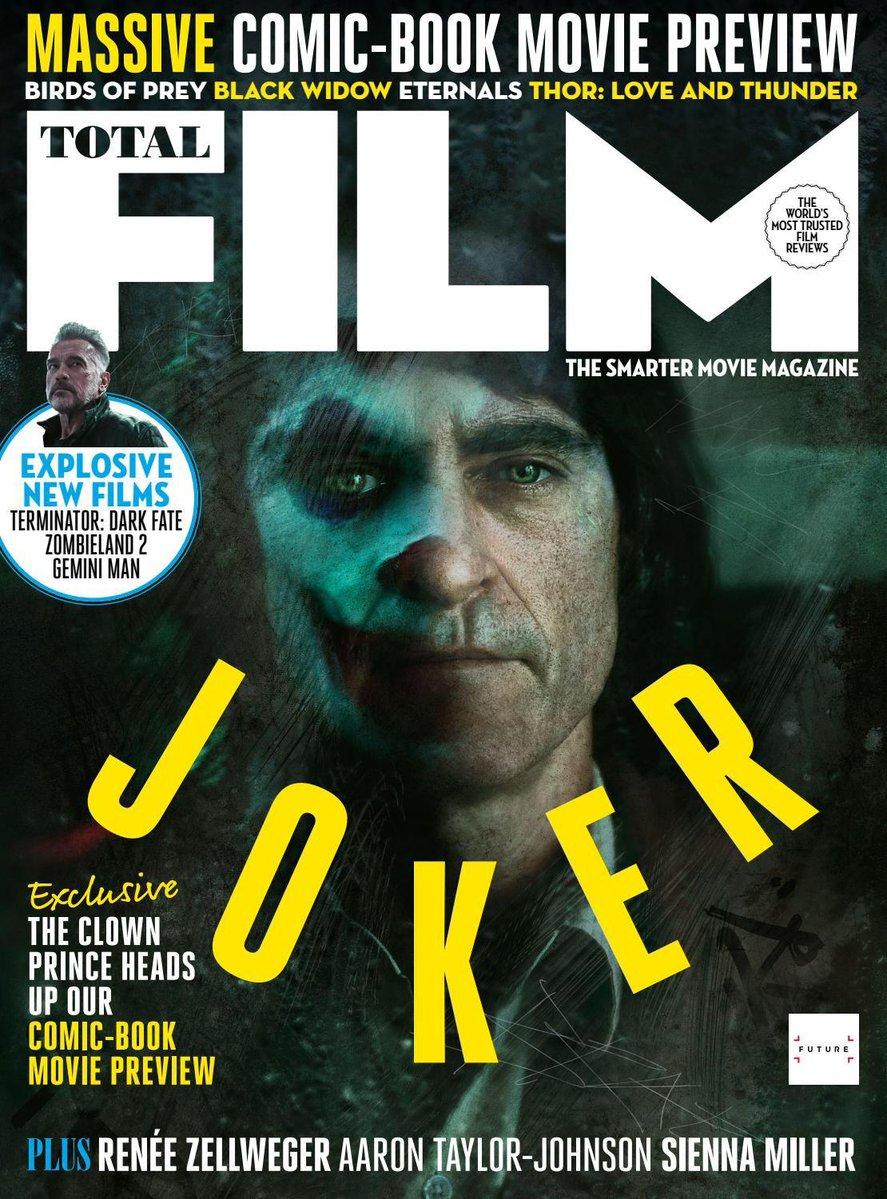 Joaquin Phoenix as the Joker ~ Total Film Magazine