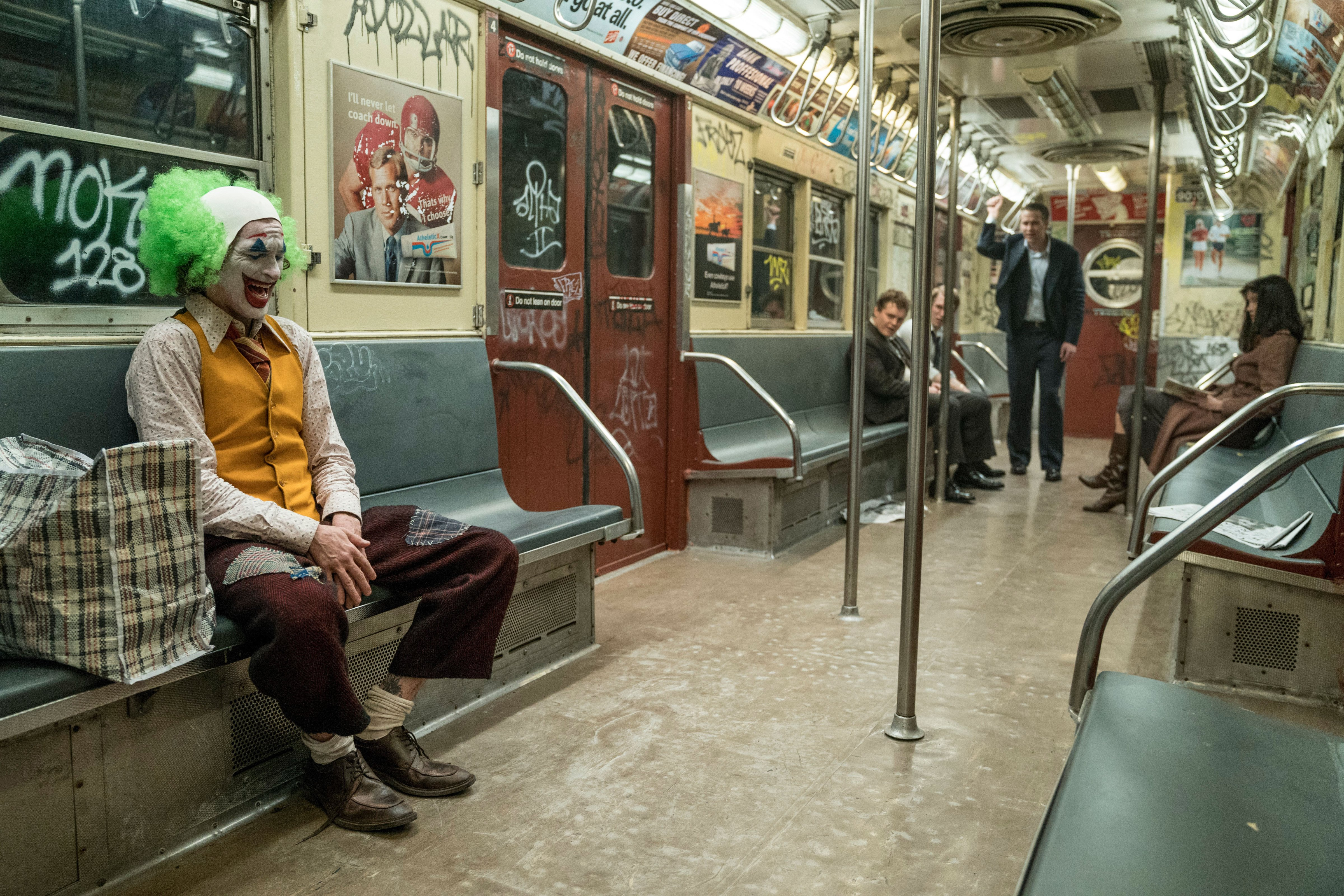Joaquin Phoenix as the Joker in 'Joker'